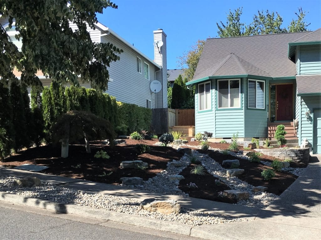 2. Front Yard Renovation - AFTER